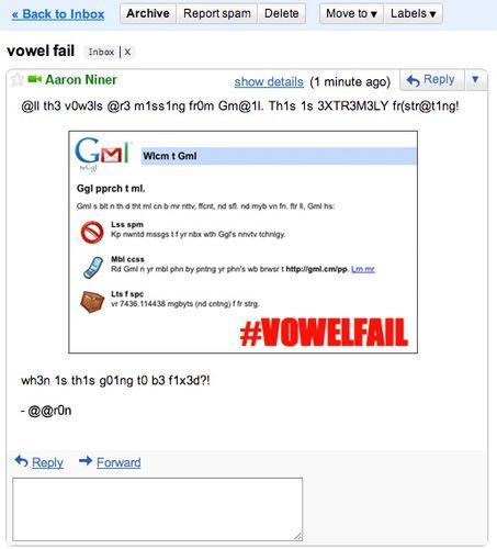 Vowelfail